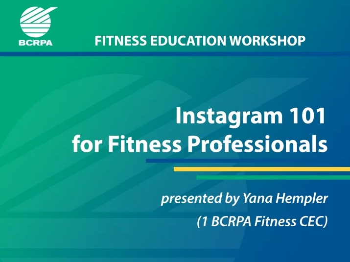 Instagram 101 for Fitness Professionals