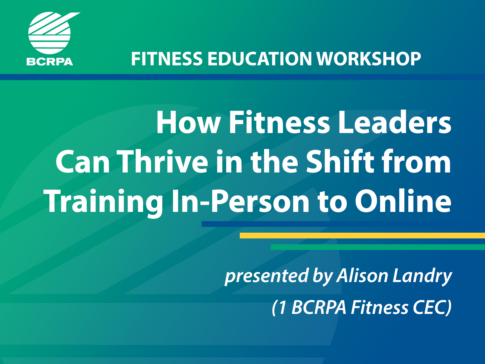 How Fitness Leaders Can Thrive in the Shift from Training In-Person to Online